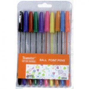 Bolígrafos 10 colores neón