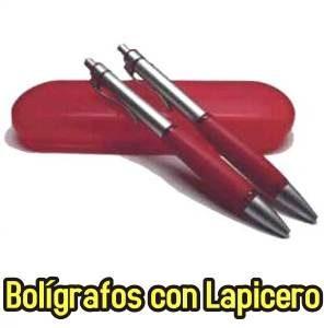 Bolígrafos con Lapiceros