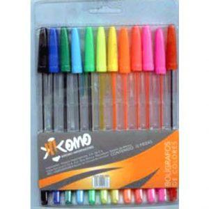 Bolígrafos colores Fluorescentes