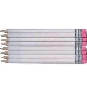 Lapicero tipo lápiz blanco