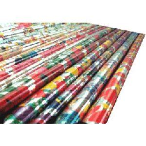 linea papel para envolturas de regalo tipo metálico navidad