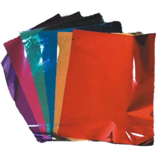 papel metálico para envoltura